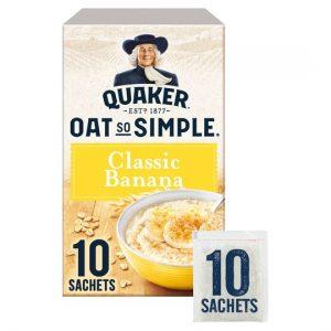 Quaker Oat So Simple Porridge Banana 348g