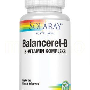 Solaray Balanceret-B - 90 Kaps