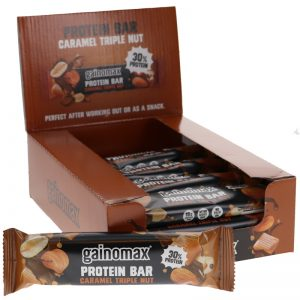 15-pack Gainomax Bar Caramel Tripplenut - 23% rabatt