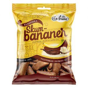 Aroma Skumbananer Choklad 110g
