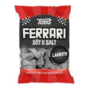 Ferrari Söt & Salt Lakrits 110g