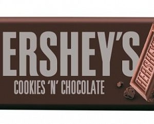 Hershey Cookies N Chocolate Bar 40g