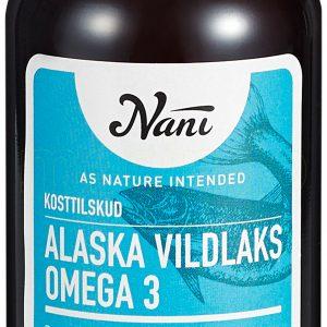 Nani Omega 3 Alaska Vildlaks - 237 ml