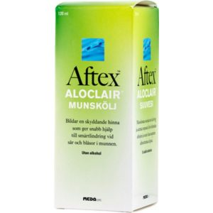 Aftex Aloclair Munskölj 120ml - 120 ml