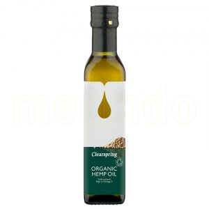 Clearspring Hampaolja Eko - 250 ml