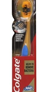 Colgate 360 Charcoal Gold Toothbrush, 1 st
