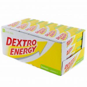 Dextro Energy Lemon med C-vitamin - 24 x 47 Gram - 0 Kg