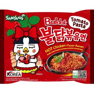 Samyang Buldak Hot Chicken Ramen Tomato Pasta Flavor 140g