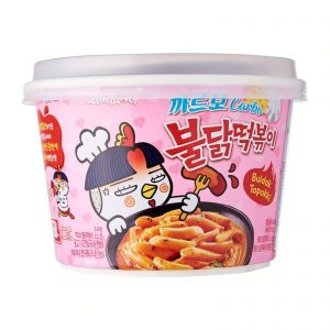 Samyang Hot Chicken Flavor Carbo Topokki 179g