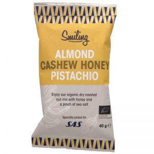 Eko Nötmix Honey, Cashews, Almonds, Pistachios & Sea salt - 33% rabatt