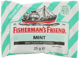 Fishermans Friend Mint Sockerfri - 25 Gram