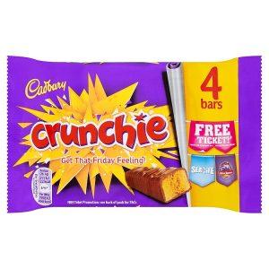 Cadbury Crunchie 4-Pack 100g