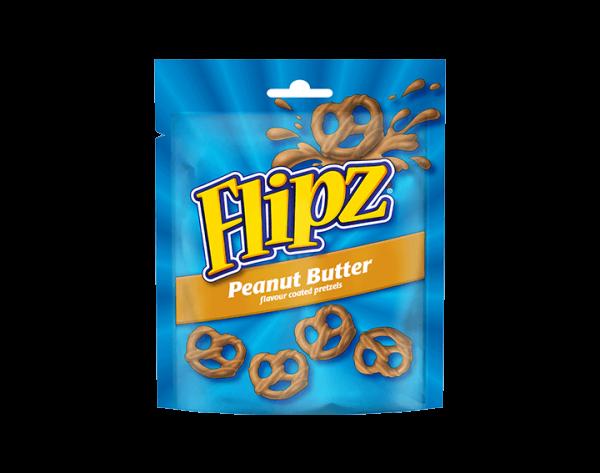 Flipz Peanut Butter Pretzels 90g