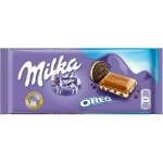 Milka Oreo Mjölkchoklad 100 gr