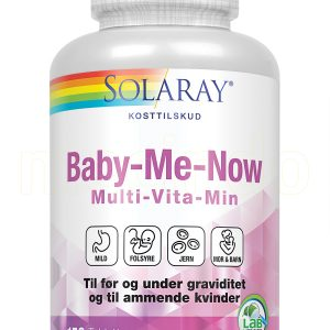 Solaray Baby-Me-Now - 150 Tabletter