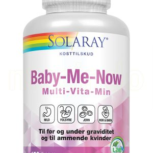 Solaray Baby-Me-Now - 90 Tabletter