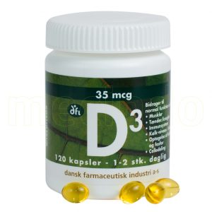 Vitamin D 35 Mcg - 120 Kapslar