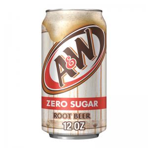 A&W Root Beer ZERO sugar 355ml