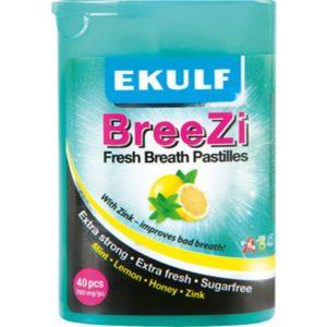 Ekulf BreeZi - 40 Sugtabletter