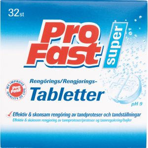Profast Rengöringstabletter - 32 Tabletter