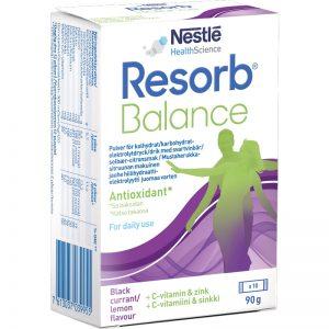 Resorb Balance Svartvinbär 10 påsar - 45% rabatt