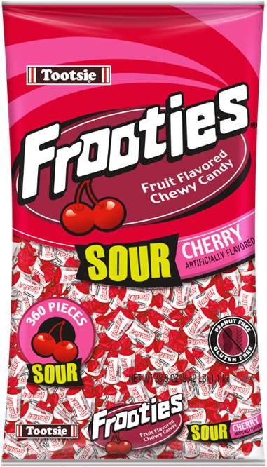 Tootsie Frooties Sour Cherry 1,1kg