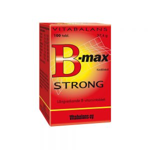 B-max Strong 100 tabletter