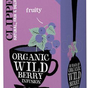 Clipper Wild Berry Te Ø - 20 Påsar