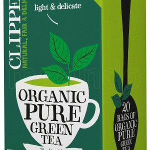 Clipper ekologiskt grönt te - 40 Gram - 20 Påsar
