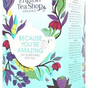 English Tea Shop Because You're Amazing Te Ø - 20 Påsar