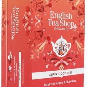 English Tea Shop Beetroot, Apple & Blueberry Te Ø - 20 Påsar