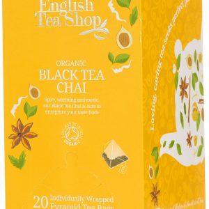 English Tea Shop Black Tea Chai Ø - 20 Påsar