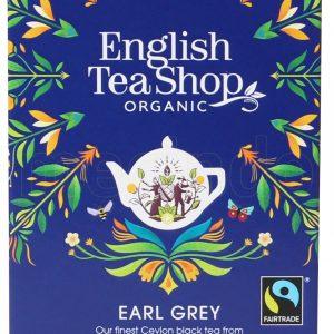English Tea Shop Earl Grey Te Ø - 20 Påsar