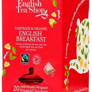 English Tea Shop English Breakfast Ø - 20 Påsar