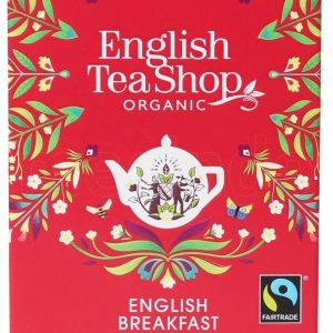 English Tea Shop English Breakfast Te Ø - 20 Påsar