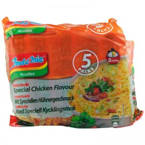 Nudlar Kyckling Curry 5-pack - 16% rabatt
