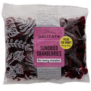 Torkade Cranberries - 29% rabatt