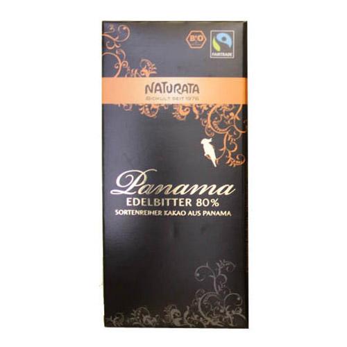 Naturata Chokolade bitter 80% - 100 G